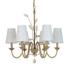 Us 1575 50 Offkronleuchter Beleuchtung Moderne Einfachheit Kristall Kronleuchter Lampe Kronleuchter Leuchten Mit Stoffschirm E14 Led Licht In