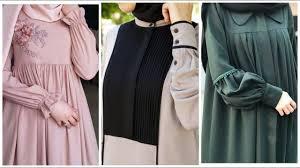 New Abaya Design 2019 Dubai 45 Stylish Hijab Abayas Neck Sleeved Designs Collection 2020 Dubai Abaya Designs