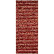 bohemian red multi 3 ft x 6 ft runner rug