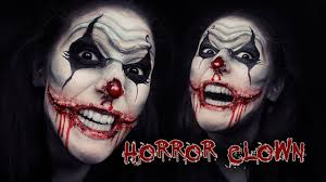 face paint scary clown scary clown face makeup horror scary chelsea smile clown makeup