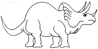 Small Picture Printable Triceratops Coloring Pages For Kids Cool2bKids