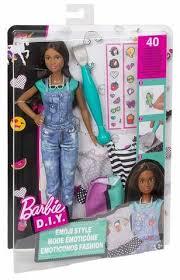 <b>Кукла Mattel</b> Барби <b>Эмодзи</b> брюнетка — купить в интернет ...