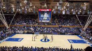 Seating Chart Of Cameron Indoor Stadium Cameron Indoor Stadium Section 15 Row M Home Of Duke Blue