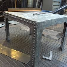 water tank coffee table furniture and metalwork built to order