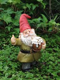 details about miniature dollhouse fairy garden cheers gnome drinking beer pick new