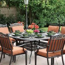 darlee charleston 9 piece cast aluminum patio dining set