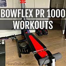bowflex pr1000 workouts with video