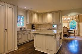 high class antique white kitchen cabinets