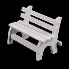 details about diy mini wooden bench dolls house miniature garden dollhouse furniture accessory