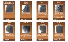 Hair Types Chart For Black Women Types Of Black Hair