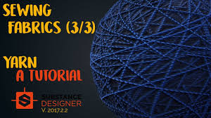 Substance Designer Beginner The Ultimate Yarn Material In Substance Designer Ep 3 3 Beginner Tutorial