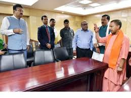 Image result for yogi adityanath in anexy