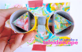 diy teleidoscopes a simple open ended diy kaleidoscope you can make at home great