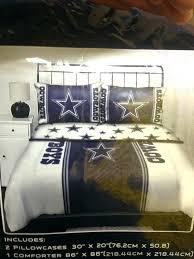 dallas cowboys comforter king size set queen bedding in bag 5 licensed new twin bedroom stuff