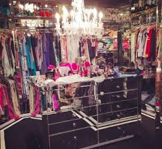 chandeliers are a staple in celeb closets image instagram