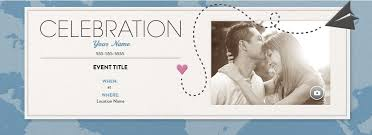 an wedding invitation with a paper airplane and a heart