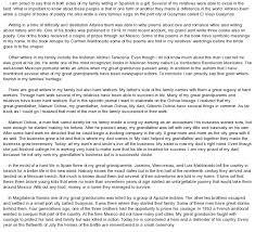 write essay on my family co write