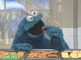 cookie monster dancing gif. Modren Monster Animated GIF Cookie Monster Sesame Street Cookies Free Download  Chocolate Chip Inside Cookie Monster Dancing Gif