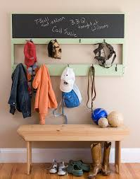 Diy Coat Rack Bench 100 Fabulous DIY Coat Rack Ideas Coat racks Chalkboard paint and 95