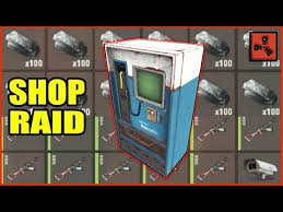 Vending Machine Rust Best Raiding The BEST Shop In Rust Funny Toxic Online Raid Rust