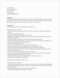 Janitor Resume Duties Best Of Custodian Job Description For Resume