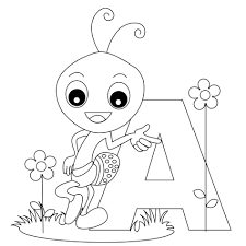 Printable Alphabet Coloring Pages The Abc Letters Hard Letter L ...