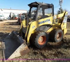 construction equipment auction in kansas city missouri by purple 2004 komatsu sk1020 skid steer