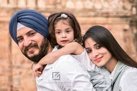 Professional Family Portrait Photographer Delhi India