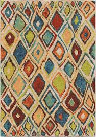 orian rugs bright color geometric nabalis multi texture area rug