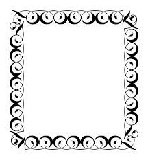 filigree frame png 2