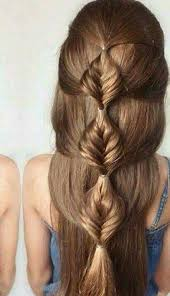 Braid Hairstyles For Long Hair 1 Stunning Bubble Fishtail Hairstyles Pinterest Hair Style Hair Dos And
