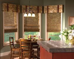 Contemporary Kitchen Valances Bay Window Kitchen Curtains Ideas