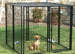 portable large dog pens for outside animal steel pen no sharp edges with roof dog