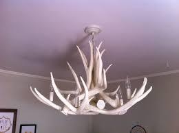 image of chandelier small antler chandelier vintage image of white deer antler chandelier
