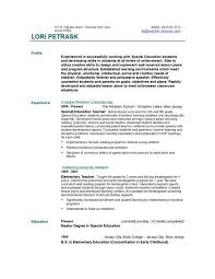 Gallery Of Teacher Resume Templates Easyjob Teaching Sample 12