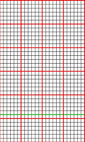 Numbered Graph Paper Template Creating Knit Graph Paper On Mac Using Excel And Numbers 11