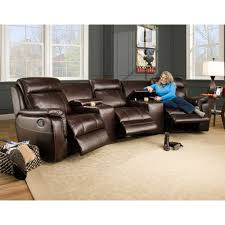 Melrose Home Theater Living Room LAF Armless And RAF Power - Swivel recliner chairs for living room 2