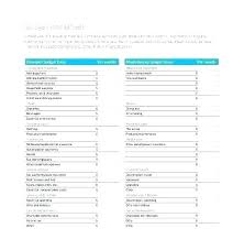 Easy Budget Spreadsheet Template Simple Household Sprea