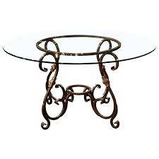 wrought iron table bases for glass tops interior design ideas glass table bases cut glass table