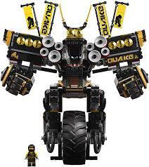 Buy LEGO Ninjago Movie Quake Mech 70632 Online in Turkey. B07145JS3B