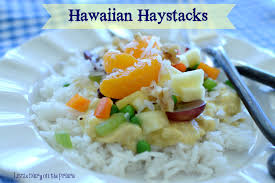 kids love hawaiian haystacks because they get to choose their own toppings i love these
