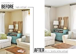 do you painting your ceilings try this mess free tutorial on how to