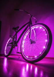 Bike Neon Lights Led Bike Wheel Lights Set For Two Wheels