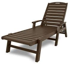 trex outdoor furniture yacht club stackable chaise lounger