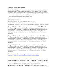 Template For Annotated Bibliography 10 Teaching Annotated