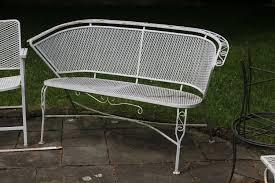 vintage wrought iron garden furniture. Vintage Wrought Iron Patio Furniture Salterini Tempestini Woodard Collection · \u2022. Splendiferous Garden