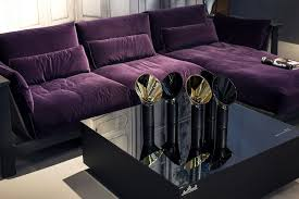 Stunning Purple Sectional Sofa Ideas Also Offers Modular Ease