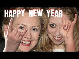 Image result for chelsea clinton upside down cross
