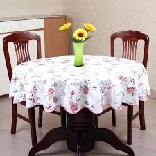 round table cover with elastic plastic table cover past style wave table cloth plastic table cloth