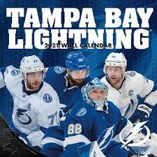 Tampa Bay Lightning 2021 calendar. This ...